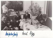 More details for erich topp  & georg-wilhelm schulz - u-boat commanders - signed 6