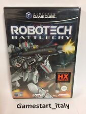 ROBOTECH BATTLECRY NINTENDO GAME CUBE GC - NEW SEALED PAL VERSION VIDEOGAMES