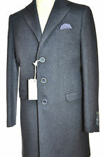 ALESSANDRO GILLES MANTEAU HOMME EXTRA SLIM TAILLE 54 BLEU SALL CD03
