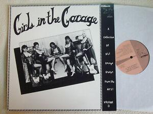 V.A. - Girls in the Garage Vol. 3 / Three LP Romulan Records 1988 Near Mint