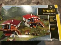 Precision Minitures HO Scale Houses Vintage Rare Germany P 252