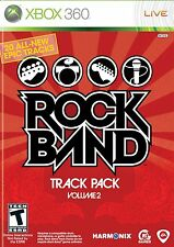 Xbox 360 Rock Band Track Pack Volume 2 Video Game maximo park garbage the cars