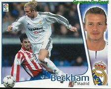 DAVID BECKHAM ENGLAND REAL MADRID CROMO STICKER LIGA ESTE 2005 PANINI