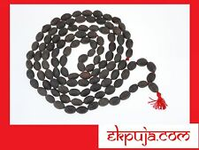 LOTUS SEED KAMAL GATTA JAPA MALA 108+1 ROSARY BEADS HINDU YOGA MEDITATION SUBHA