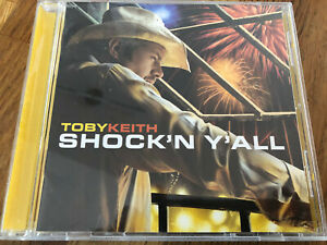 "US COUNTRY MUSIC CD TOBY KEITH  "" Shockin' Y'All "" TOP Nashville"