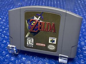 Legend of Zelda Ocarina of Time - Authentic Original Nintendo 64 N64 Game - RARE