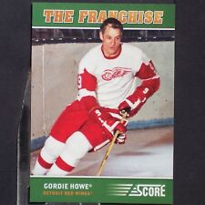 GORDIE HOWE  2012/13  Score  The Franchise  #OS2  Detroit Red Wings  Mr. Hockey