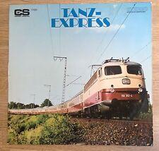 LP Allemagne pochette train Deutsche Bahn compilation orchestrale VG+/EXC