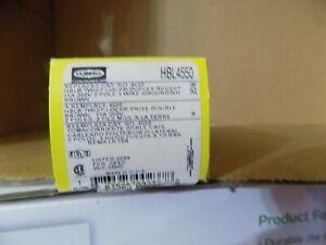 HUBBEL HBL4550 15A 250V Duplex Brown Twist-Lock