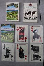 Cherry Republic Glen Arbor Michigan 1989 Bear Playing Card Deck Cards RARE
