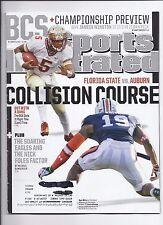 2013 Sports Illustrated Magazine Florida State Vs Auburn 12/16