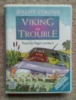 Viking In Trouble by Jeremy Strong Audiobook Audio Book on CASSETTE