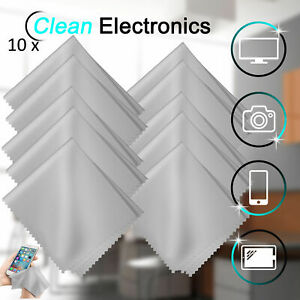 5/10/20 Pcs Microfiber Glasses Cleaning Cloth For Screen Camera Lens Eyeglasses