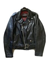 Schott NYC - 626 Black Size: Large - Leather - pre-owned - Made in USA