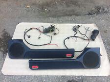 VW Golf Mk3 Jetta Mk3 OEM Euro Set Blue Front Door Card Panel Storage Trim