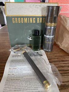 Vintage Mary Kay Mens Grooming Basics Kit .5oz Quattro Cologne Razor Shave Cream