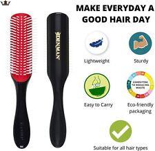 Denman  Brosse  D3 7 Rangs Coussin Flexible Amovible Cheveux Hygiène Maison