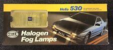 HELLA 530 TITAN HALOGEN FOG LAMPS 73722 YELLOW LIGHT NEW OLD STOCK
