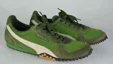 PUMA 5000M Running Trail Shoes Sneakers Green Leather Suede Men's 9.5 M