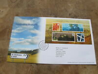 2006 GB First Day Cover / FDC - Celebrating Scotland mini sheet