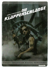Escape From New York Rare Import Steelbook Exclusive DVD 80s Cult Kurt Russell