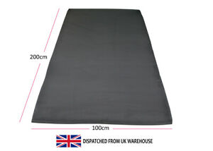 HD Foam Gym Floor Mats 2x1 Meters Fitness Bench Weights Yoga Thick Strong