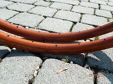 CB ITALIA (n.2) cerchi in legno SANREMO vintage per copertoncini - Holzfelgen