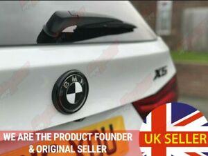 BMW F15 F16 Gloss Black Rear Badge Ring cover X5 boot F85 F86 x5m x6