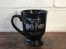 Harry Potter Mug Universal Studios Wizarding World Of HarryPotter Black Pedestal