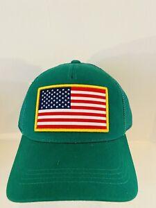 Shep Gear USA Trucker Hat Green One Size