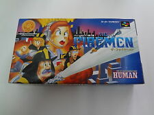 The Firemen Nintendo Super Famicom Japan NEW
