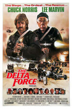 The Delta Force (1986) original movie poster - single-sided - folded