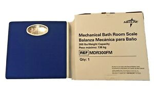 NIB MEDLINE Mechanical Bath Room Scale-300lb Capacity