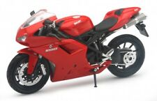 New Ray 1/12 Ducati 1198 Motorcycle Bike Red Diecast Model Car Red 57143