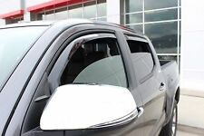 Toyota Tacoma Double Cab 2005 - 2014 Tape on Wind Deflector Vent Visor Shade