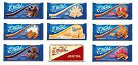 E.WEDEL CHOCOLATE FROM POLAND - BIG CHOICE - LIQUID FILLING TOFFEE FRUIT RAISINS