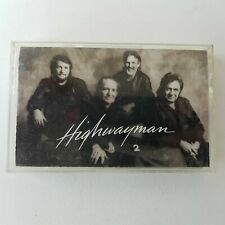 Highwayman 2 Cassette Tape 1990 Columbia Records #CT45240
