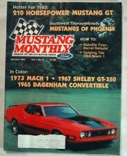 MUSTANG MONTHLY 1984 OCT - THE NEW GT, HOOD STRIPES