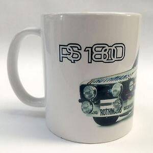 Classic Ford Escort RS1800 MK2 MKII Rothmans Rally Car Mug Birthday Gift