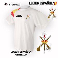 CAMISETAS TECNICAS: LEGION ESPAÑOLA - ESCUDO GENERICO M1