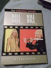 Kill Bill  Volumes 1 & 2 the Collector Series 2004 Mirmax DVD francais aussi