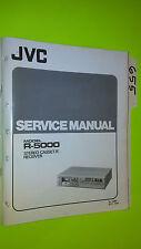 JVC rc-5000 service manual original repair book stereo tape deck radio receiver