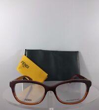 1a9b471ddb Brand New Authentic Fendi FF 0015 Eyeglasses H95 Burgundy Frame