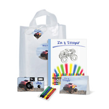 I'm a Trooper Gift Bag-Monster Truck-Single use Disposable Camera /kid (Pkg113)