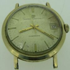 Vintage Girard Perregaux Gyromatic Swiss Automatic 10k Gold Filled Watch Case Mo