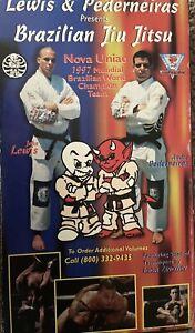 Brazilian Jiu-Jitsu VHS Tapes(very Rare)