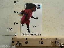 STICKER,DECAL NIKE VISION SOCCER VOETBAL