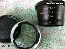Hartblei Pentacon Six 6 P6 Kiev 60 88CM Lens to Pentax 645 Adapter+MACRO 40mm