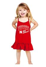 NCAA Nebraska Cornhuskers Girls Infant Strappy Dress, 3-6 months, Red - NEW