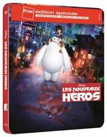Blu Ray + DVD : Les nouveaux héros - Ed Steelbook Disney Fnac - NEUF